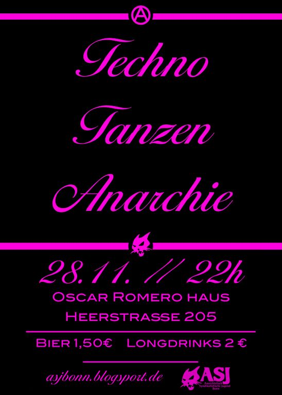 Techno – Tanzen – Anarchie