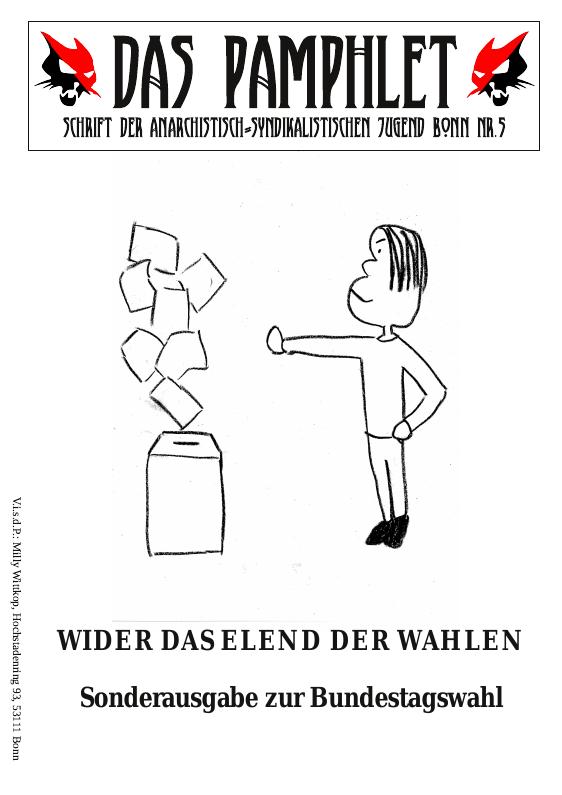Das Pamphlet – Sonderausgabe zu Bundestagswahl